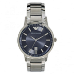 Armani AR2477 Men's Blue Stainless Steel Watch