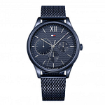 Tommy Hilfiger 1791421 Damon Blue Mesh Men's Watch