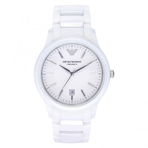 Armani AR1476 White Ceramica Watch