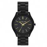 Michael Kors MK3221 Slim Runway Black Stainless Steel Watch