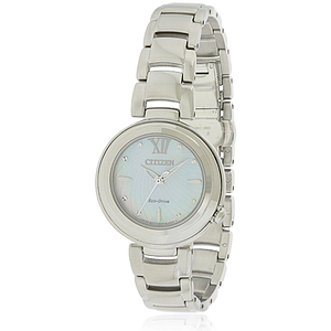 Citizen Eco-Drive Sunrise Stainless Steel Ladies Watch EM0330-55D