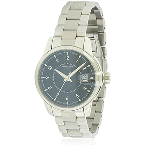 Hamilton Rail Road Stainless Steel Automatic  H40415135