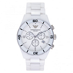 Armani AR1424 Gents White Ceramic Watch