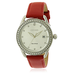 Citizen Drive LTR Leather Ladies Watch FE6110-04A