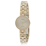 Citizen Eco-Drive Silhouette Rose Gold-Tone Ladies Watch EW5503-83X