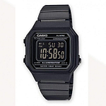 Casio B650WB-1BEF Casio Digital Black Stainless Steel Watch