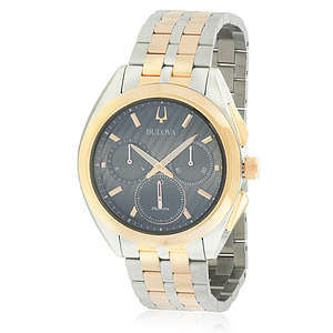Bulova Two-Tone Stainess Steel Chronograph  98A160