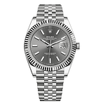 Rolex Oyster Perpetual Datejust 41mm Dark Rhodium