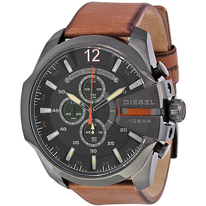 Diesel Mega Chief Leather Chronograph  DZ4343