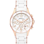 Marc by Marc Jacobs Rock Chronograph Silicone Ladies Watch MBM2547
