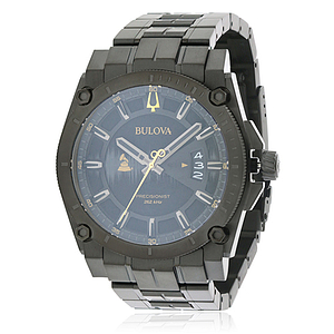 Bulova Special Grammy Edition Precisionist Black Stainless Steel  98B295