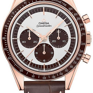 Omega Speedmaster Moonwatch Chronograph Sedna Gold