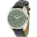 Bulova AccuSwiss Tellaro Leather Automatic  63B188