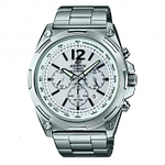 Casio EFR-545SBD-7BVER Edifice Silver Stainless Steel Chronograph Solar Men's Watch