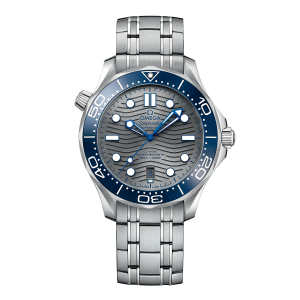 Omega Seamaster Diver 300M CO-Axial Master Chronometer 42mm Steel On Steel