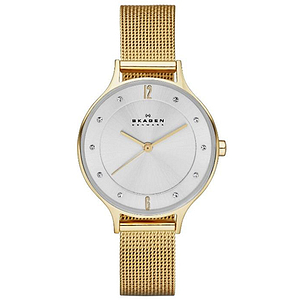 Skagen Gold-Tone Ladies Watch SKW2150