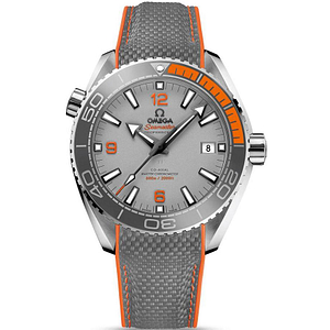 Omega Seamaster Planet Ocean 600M CO-Axial Master Chronometer Titanium On Rubber Strap