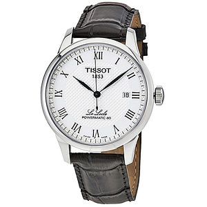 Tissot Le Locle Powermatic 80 Automatic Leather  T0064071603300