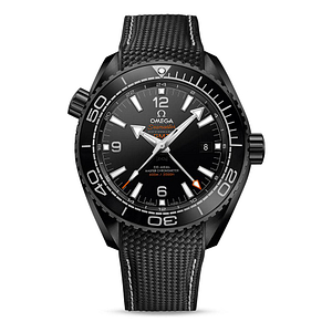 Omega Seamaster Planet Ocean 600M CO-Axial Master Chronometer GMT Deep Black