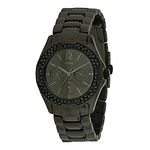 GUESS Rock Candy Grey Stainless Steel Chronograph Ladies Watch W0022L1
