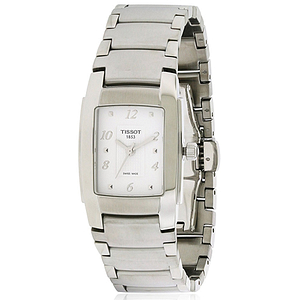 Tissot T-10 Stainless Steel Ladies Watch T0733101101701