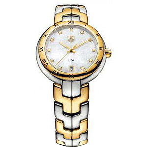 Tag Heuer Link Two-tone Diamond Ladies Watch WAT1353.BB0962