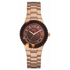 GUESS Rose Gold-Tone Ladies Watch W0468L1