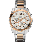 GUESS Two-Tone Chronograph  U0165G2