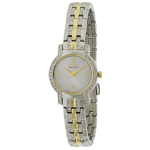 Citizen Eco-Drive Silhouette Crystal Ladies Watch EX1244-51D