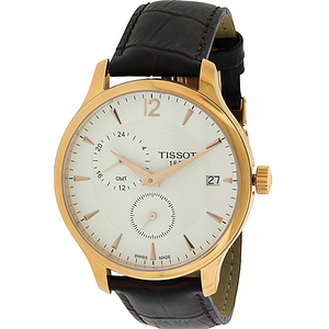 Tissot Tradition Rose Gold-Tone GMT  T0636393603700