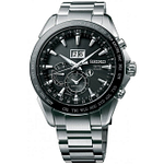 Seiko SSE149J1 Astron Stainless Steel & Black Face Men's Watch
