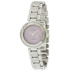 Citizen Eco-Drive L Carina Stainless Steel Ladies Watch EM0460-50N