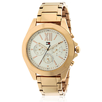Tommy Hilfiger Chelsea Rose Gold-Tone Chronograph Ladies Watch 1781847