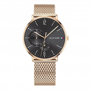 Tommy Hilfiger 1791506 Brooklyn Rose Gold Mesh Men's Watch