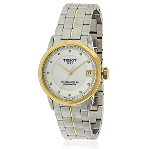 Tissot Powermatic 80 Two-tone Stainless Steel Ladies Watch T0862082211600