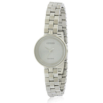 Citizen Eco-Drive Silhouette Stainless Steel Ladies Watch EW5500-81A