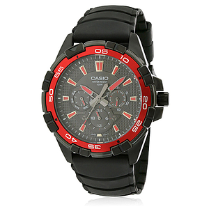 Casio Black Resin  MTD1069B-1A2
