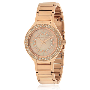 Michael Kors Mini Kerry Rose Gold-Tone Stainless Steel Ladies Watch MK3802