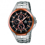 Casio EF-326D-1AVUEF Edifice Rose Gold & Silver Stainless Steel Men's Watch