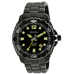 Bulova Sea King Black Stainless Steel  98B242
