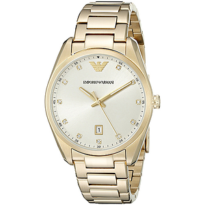 Emporio Armani Gold-Tone Ladies Watch AR6064
