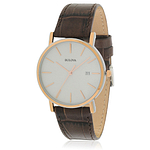 Bulova Brown Leather  98H51