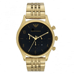 Armani AR1893 Armani Black & Gold Men's Watch