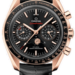 Omega Speedmaster Professional Moonwatch Moonphase Chronograph Sedna Gold