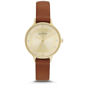 Skagen Anita Leather Ladies Watch SKW2147