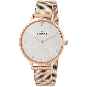 Skagen Rose Gold-Tone Ladies Watch SKW2151