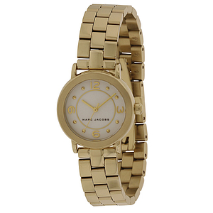 Marc Jacobs Riley Gold-Tone Ladies Watch MJ3473