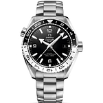 Omega Seamaster Planet Ocean 600M CO-Axial Master Chronometer GMT Steel On Steel