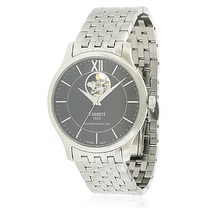 Tissot Tradition Powermatic 80 Open Heart Stainless Steel  T0639071105800