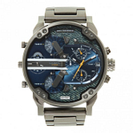 Diesel DZ7331 Daddy 2.0 Gunmetal Grey Stainless Steel Chronograph Men's Watch